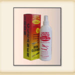 Golden Supreme Iron Cleaner Spray 16 OZ . Good cleaner spay for all thermal irons, stoves, curling irons and pressing combs.