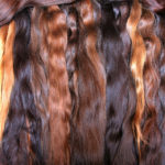 synthetic hair vs. human hair