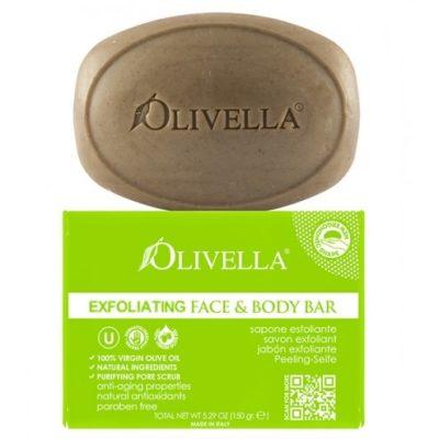 Olivella Exfoliating Bar Soap