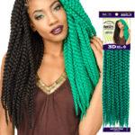Rast A fri 3D Box Braid Crochet By Golden State Imports GSI