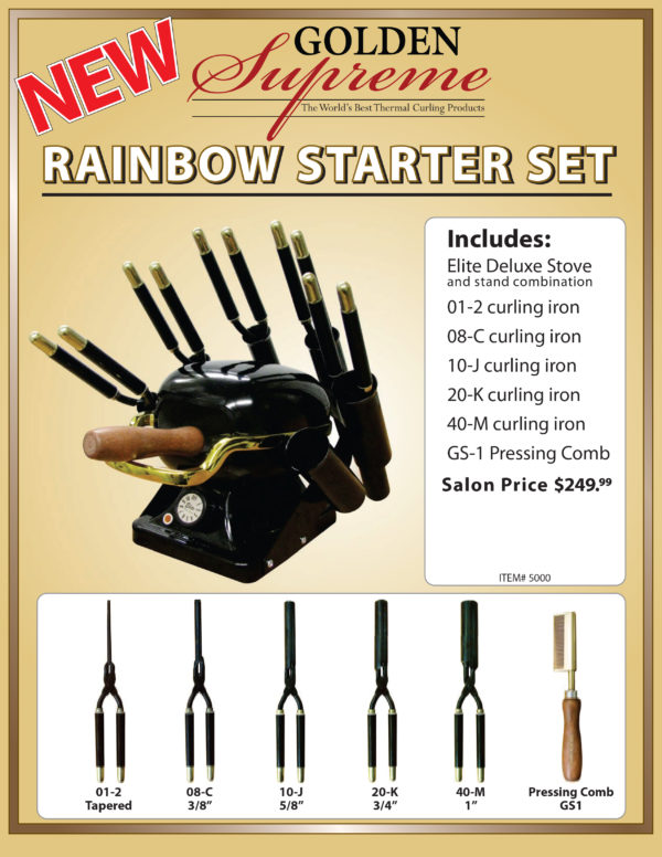 Rainbow Stove Starter Kit By Golden Supreme All Eyes On Me Hair