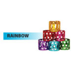 Rainbow Hair Jewels By Golden State Imports GSI
