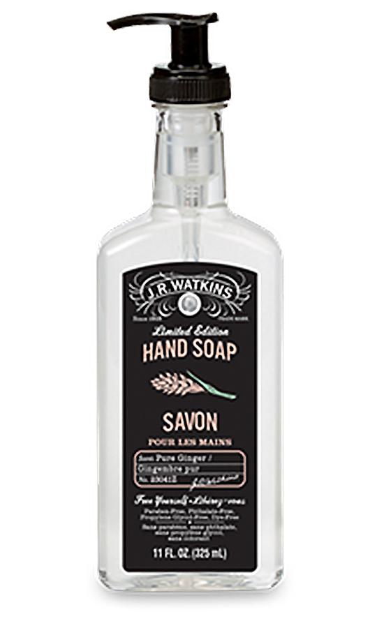 Pure Ginger Liquid Hand Soap 11 fl oz By J.R. Watkins
