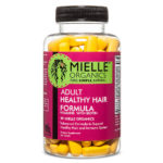 Adult Healthy Hair Formula With Biotin 60 ct By Mielle Organics