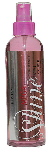 Mega Shine Thermal Finishing Spray 4 Oz By Kizure