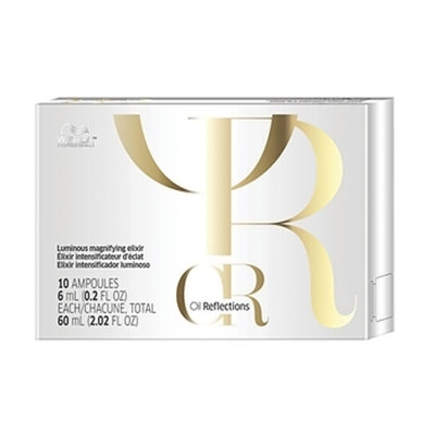 Wella Oil Reflections Luminous Magnifying Elixir (Pack Of 10)
